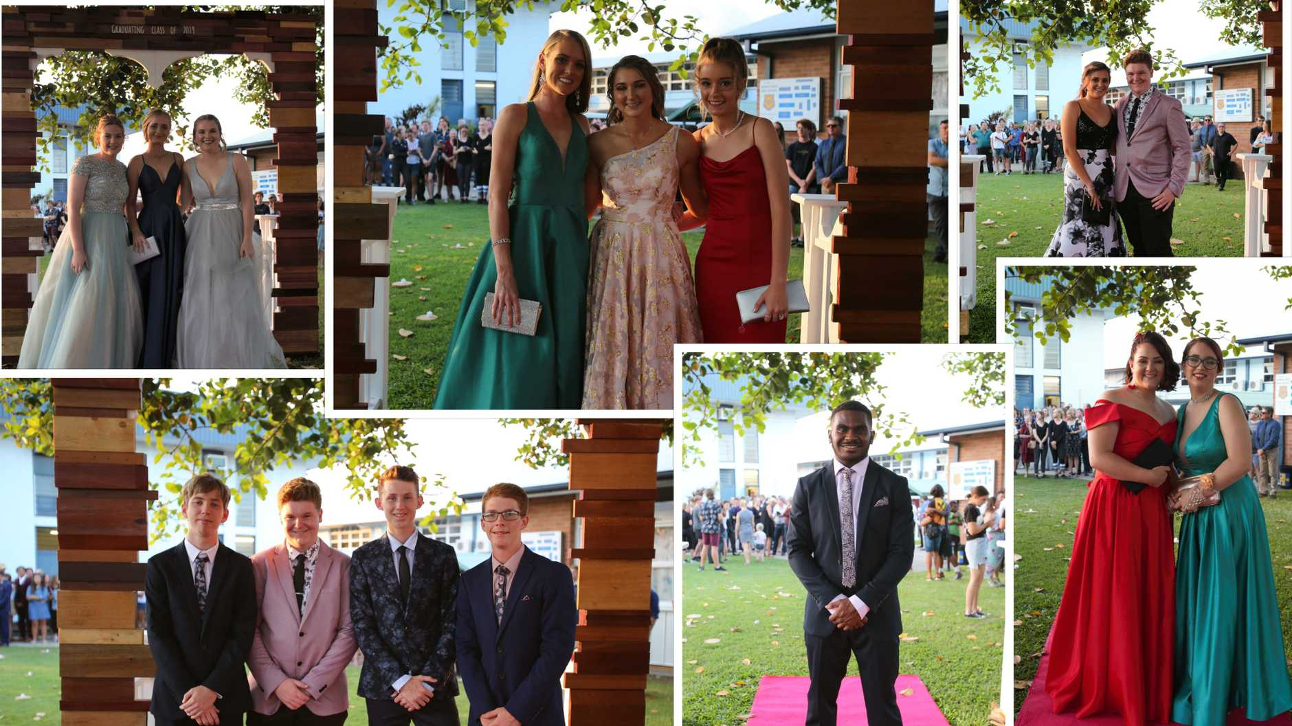 See the pictures of Year 12 students arriving in style for their night of nights.