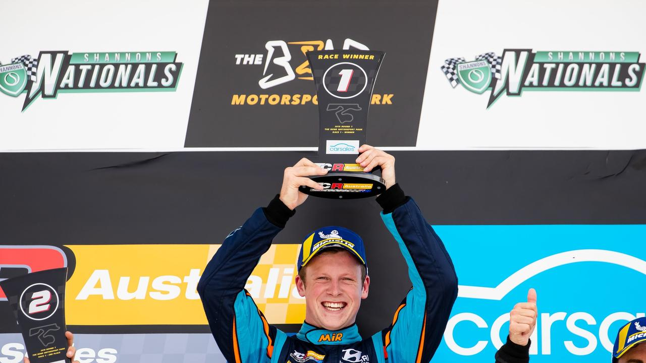 Toowoomba driver celebrate TCR Australia Series title win Brown driver officially claims TCR title - Chronicle