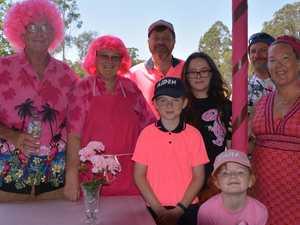 'Think positive': Breast cancer survivor shares story