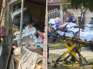 Hoarder rescued after being crushed by piles of rubbish