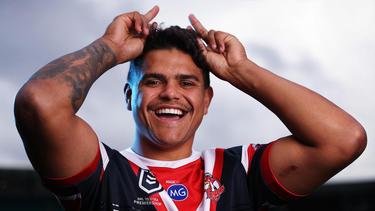 Latrell Mitchell's time at the Roosters is over. Picture: Brett Costello