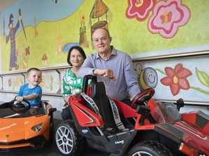 Miniature cars to help lessen surgery stress in kids