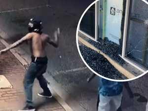 Rock-throwing teens wreak havoc on stores, cars