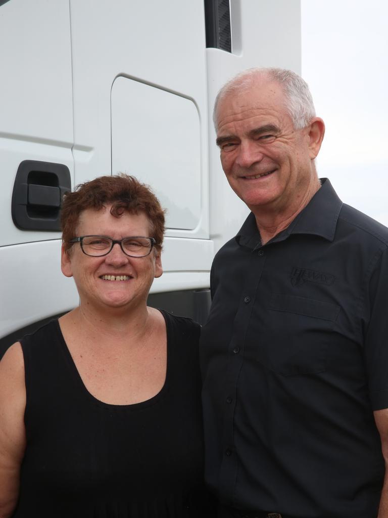 Sue and Dennis Jurss.