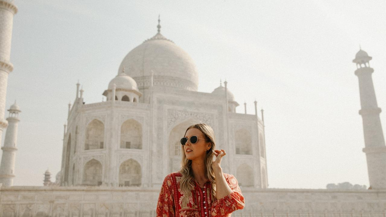Khara Deurhof enjoyed the experience of travelling through intense and vibrant India.