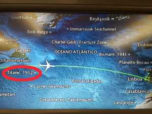 Chilling detail on in-flight maps - have you noticed it?
