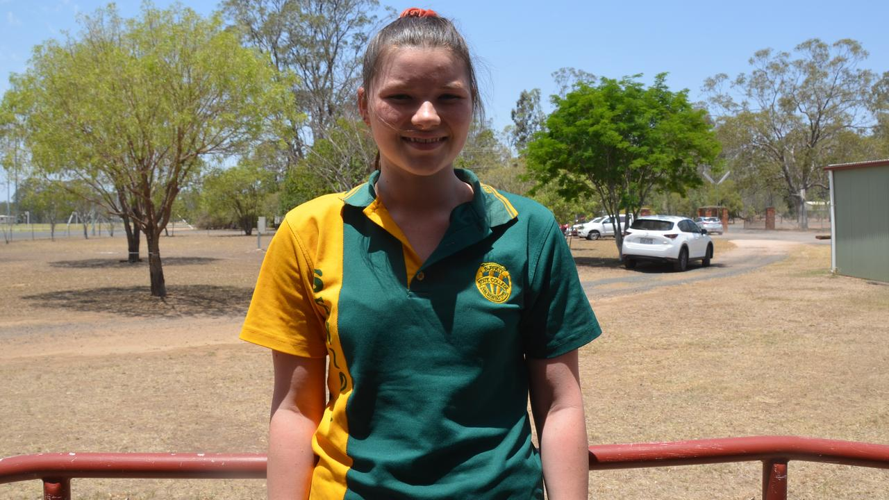 Sheree Newcombe in the graduating class of 2019 for Burnett State College. Picture: Sam Turner.