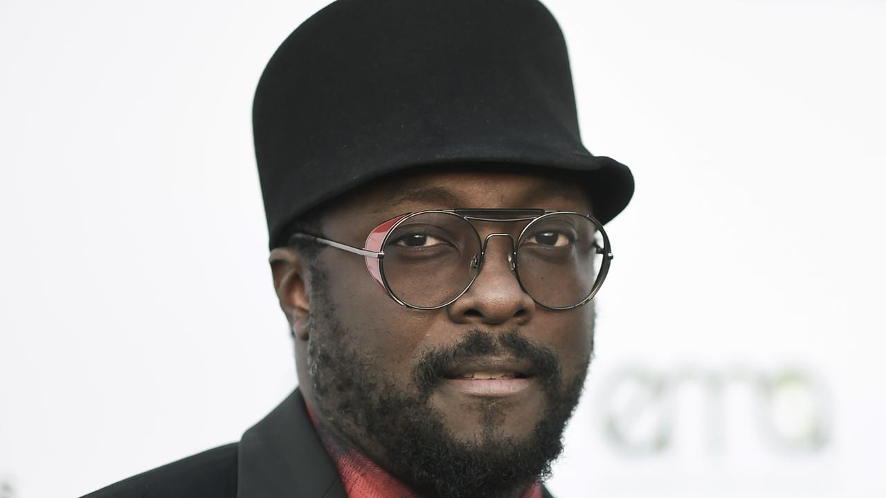 Rapper will.i.am claims he was targeted because of his race. Picture: Richard Shotwell/Invision/AP, File
