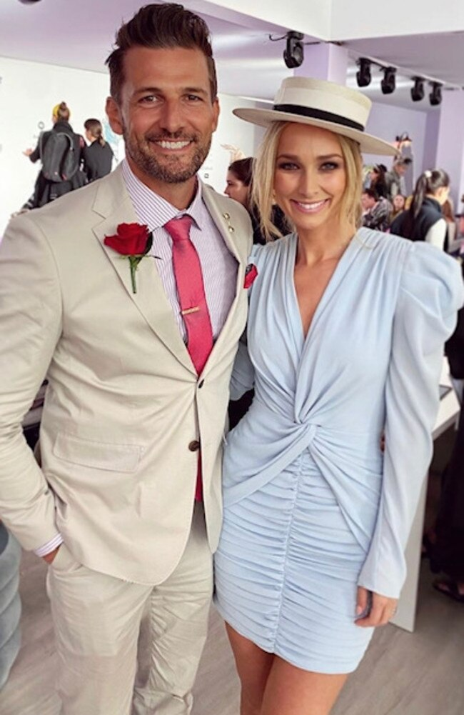Tim Robards and Anna Heinrich. Picture: Anna's Instagram