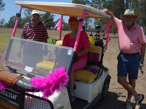 Proston's pink charity golf day