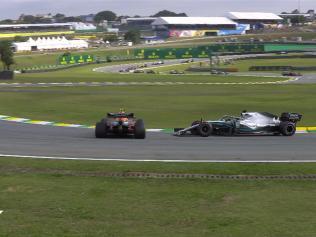 Lewis Hamilton apologised.