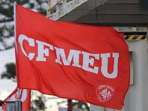 Worksite walk-off rule straight from CFMEU