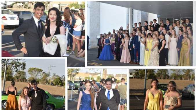 Cars, colour, and couples at Laidley High School Formal