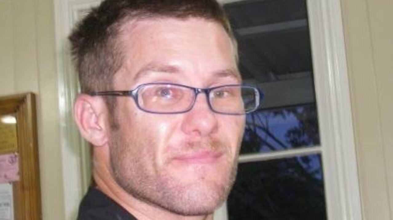 GRAFFITI TAGGER: Nathan Lee Olumets, 42, was found by police with paint on his hands after a witness watched him graffiti a tag at a train station.