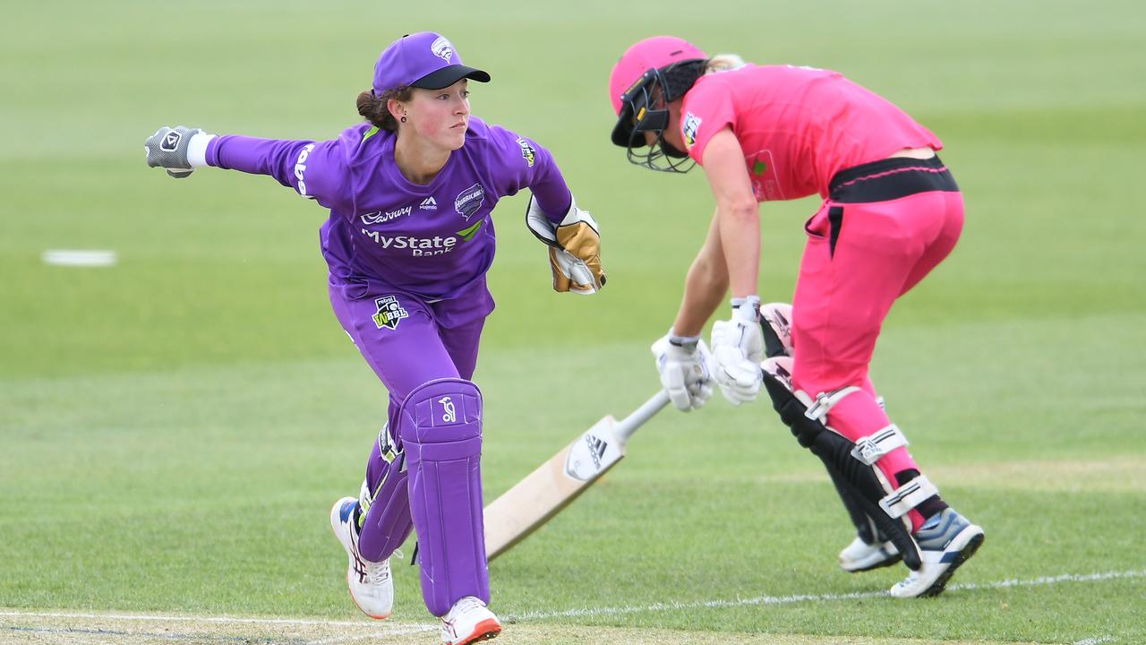 Cricket Australia has imposed a one-year ban on Hobart player Emily Smith for posting her team line-up on Instagram before its official release.