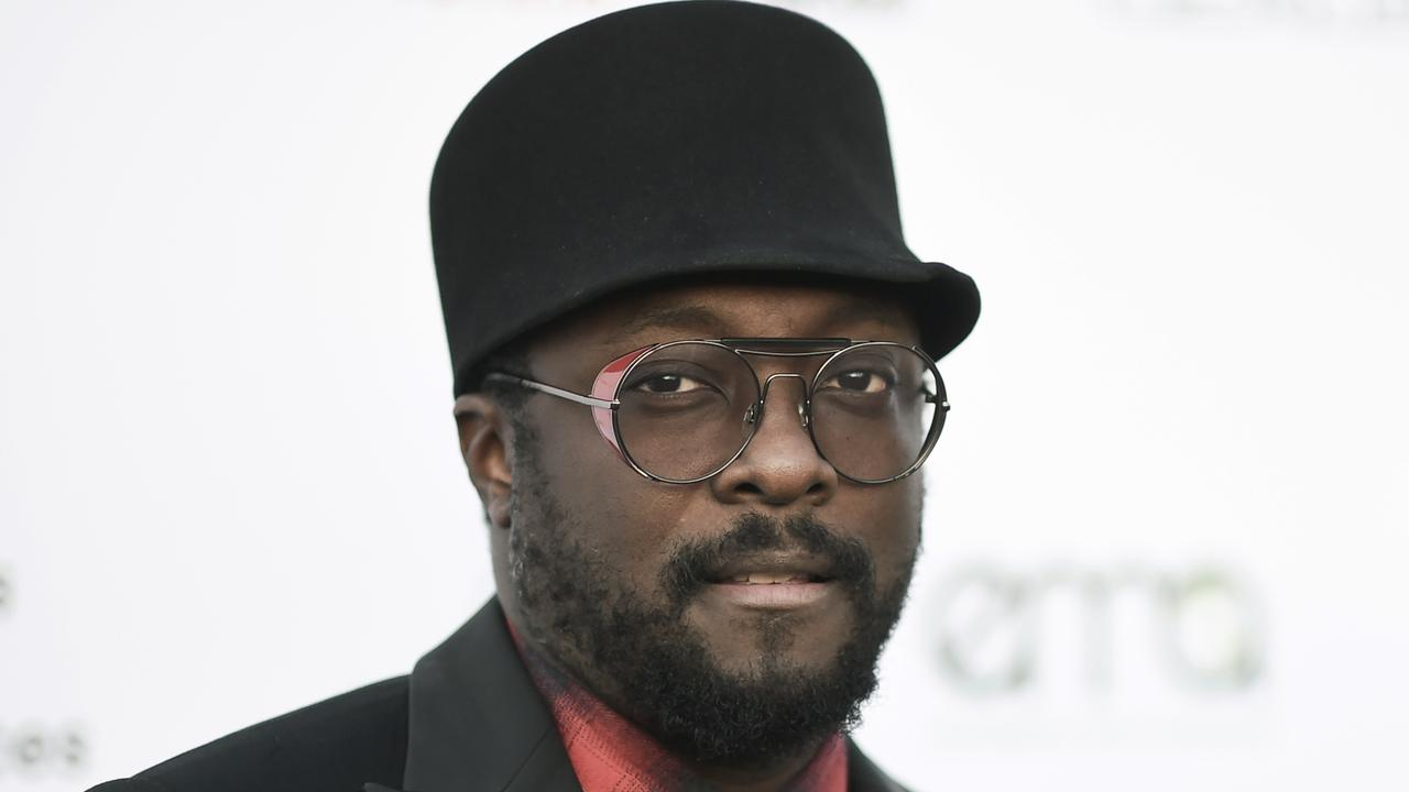 The Black Eyed Peas musicianwill.i.am has accused a Qantas flight attendant of racism. Picture: Richard Shotwell/Invision/AP