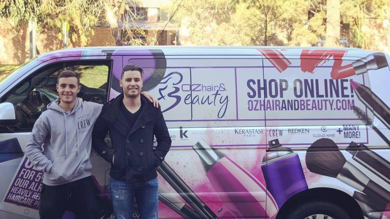 Anthony and Guy Nappa grew their business into a $20 million empire. Picture: Facebook