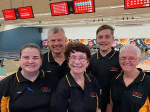 Gladstone crew bowls opposition over