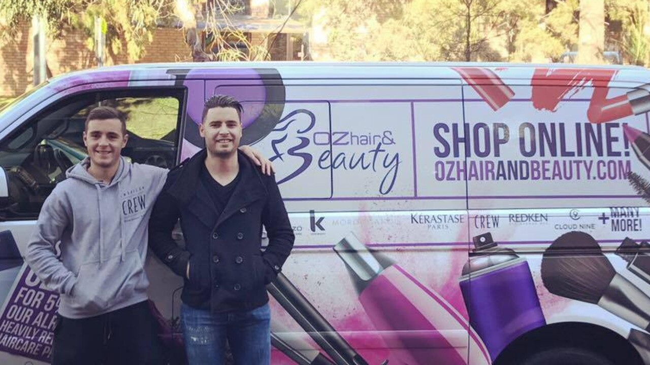 Anthony and Guy Nappa have grown their business into a $20 million empire. Picture: Facebook