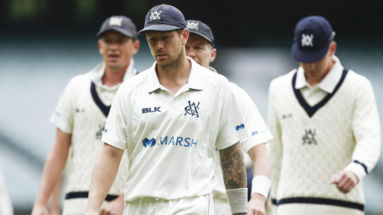 James Pattinson has been banned from the first Test of the Pakistan series. Picture: Getty