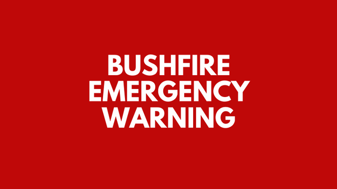 EMERGENCY: Out of control fire moves towards homes