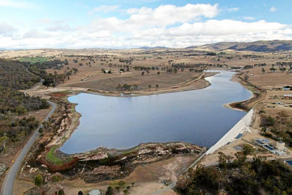 HORROR SIGHT: Tenterfield Dam is at 26 per cent capacity.