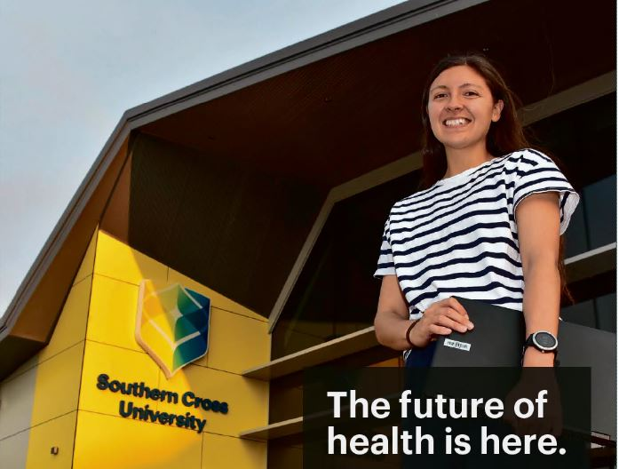 Southern Cross University's Health Sciences Building at its Coffs Harbour campus will open today.