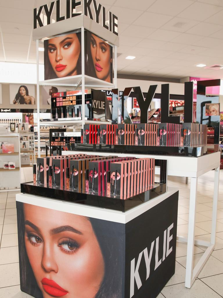 Kylie Jenner's product seen in an Ulta Beauty location in Houston, Texas. Picture: Getty Images