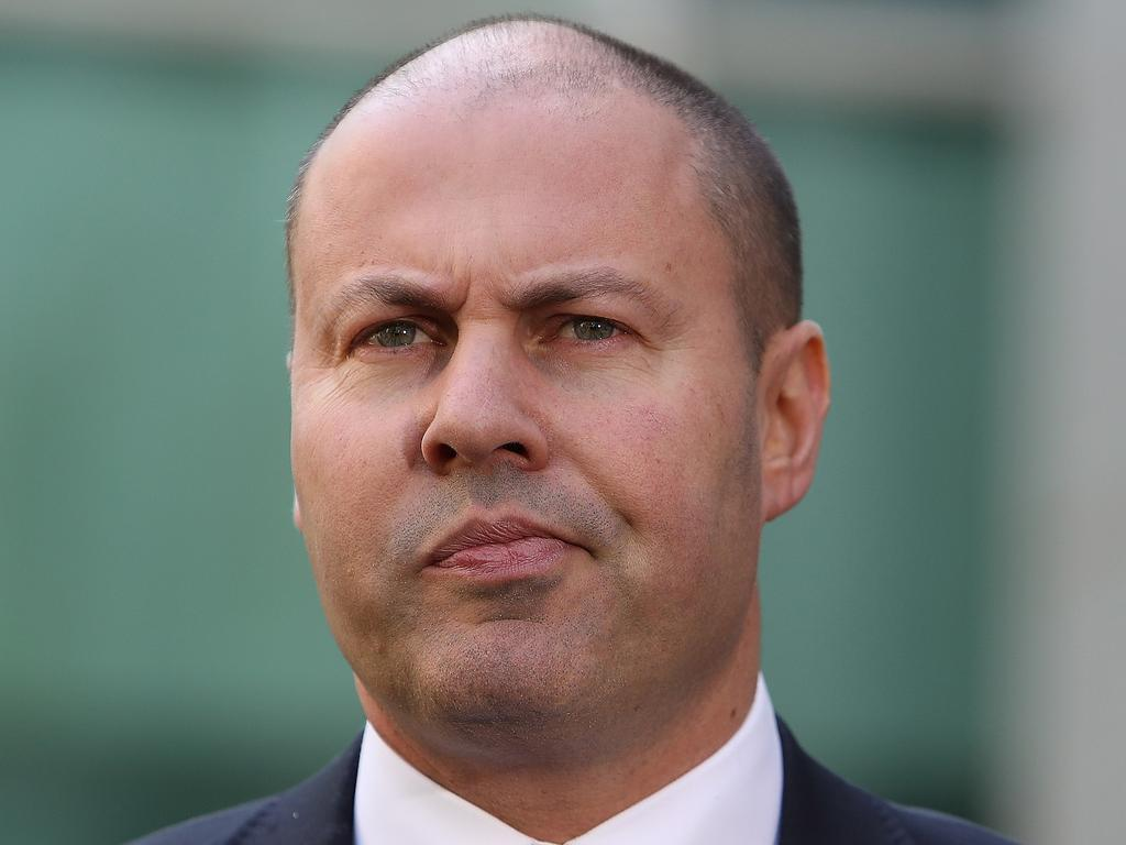 Treasurer Josh Frydenberg wants Australians aged over-65s to help ease the burden on the economy by working longer. Picture: Kym Smith