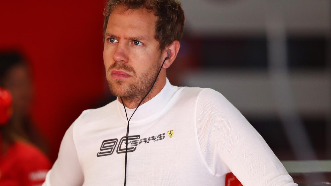 Sebastian Vettel's future remains uncertain.