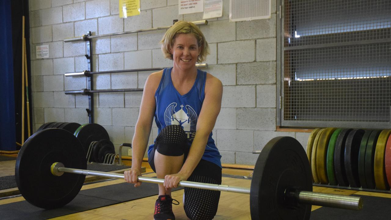 STANDING STRONG: Sonia Stenhouse Weightlifting instructor from Miles.