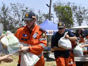 Community support for fire effort