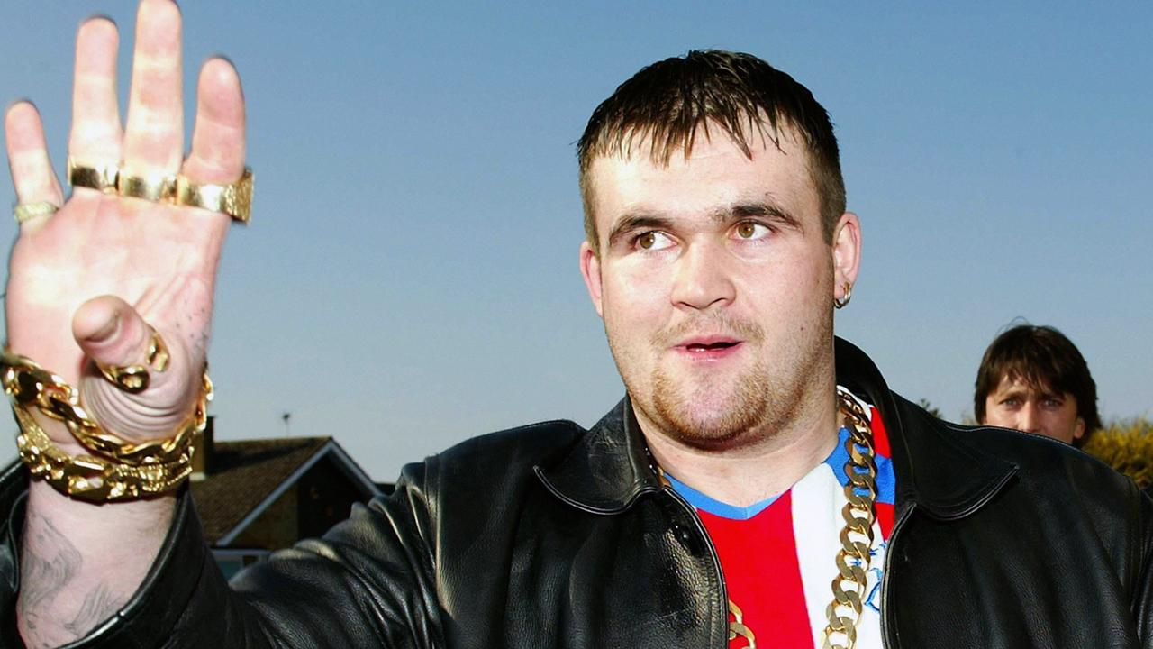 He was dubbed 'lottery lout' and 'King of the Chavs' by the British press Picture: PA
