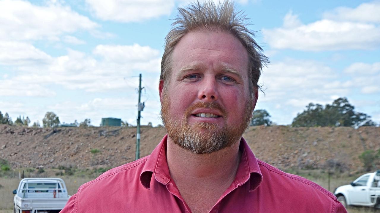 Granite Belt Growers Association president Angus Ferrier.