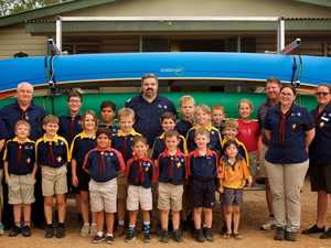 THANK YOU: Community support gives scouts major boost