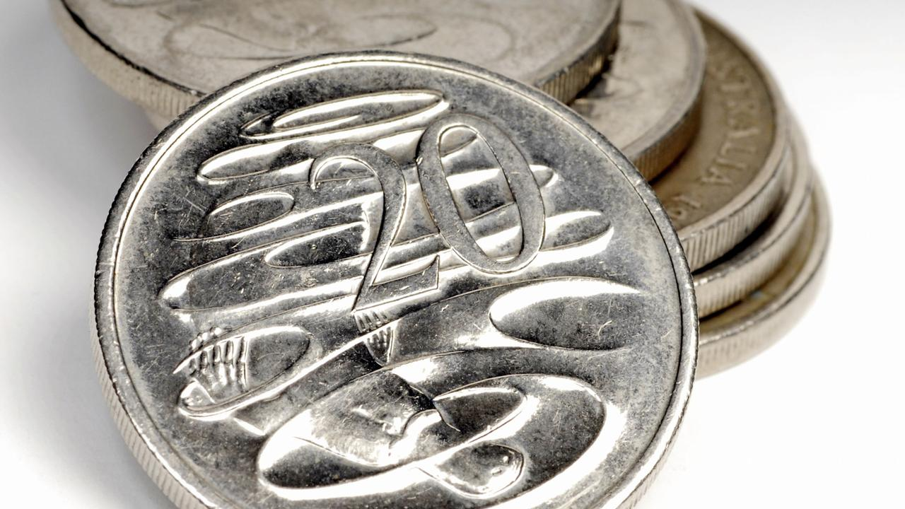 A man's rash behaviour with a 20 cent coin has cost him dearly.