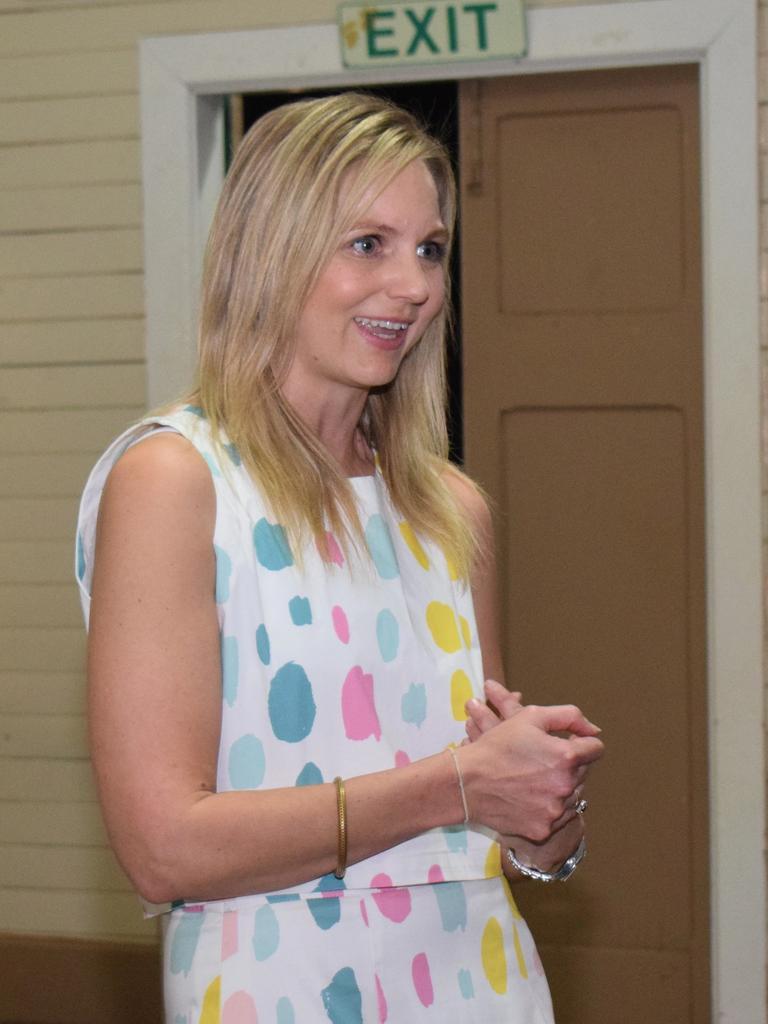 Melenco owner and designer, Mel Weller at her Spring season launch.
