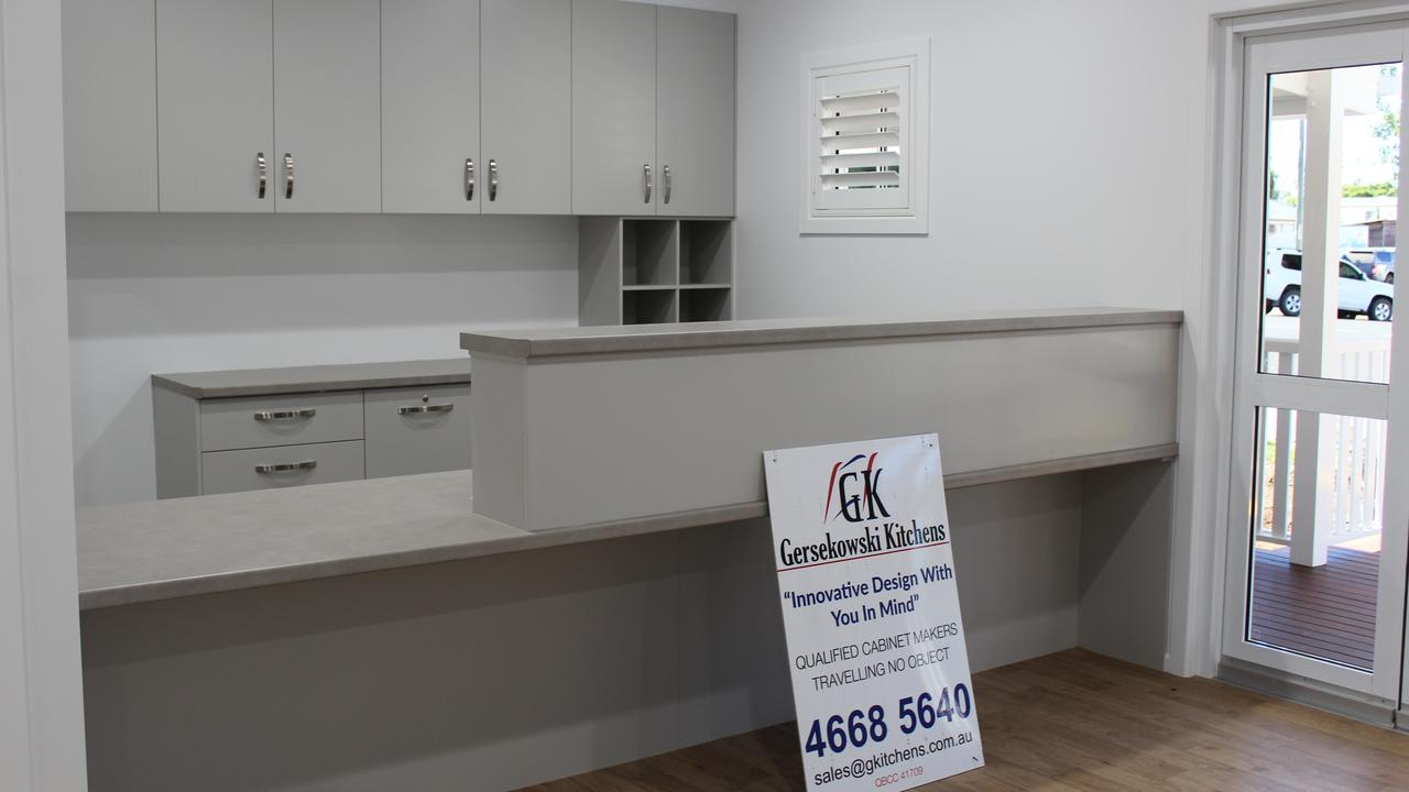 Gersekowski's latest renovation at Wambo Medical Centre in Jandowae. Picture: Contributed.