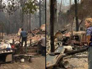 HELP NEEDED: The locals left devastated by the fires