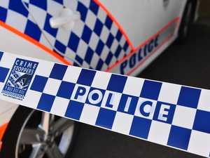 Police at suspected murder-suicide scene