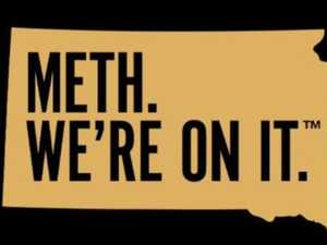 State's 'Meth. We're on it' anti-drug slogan slammed