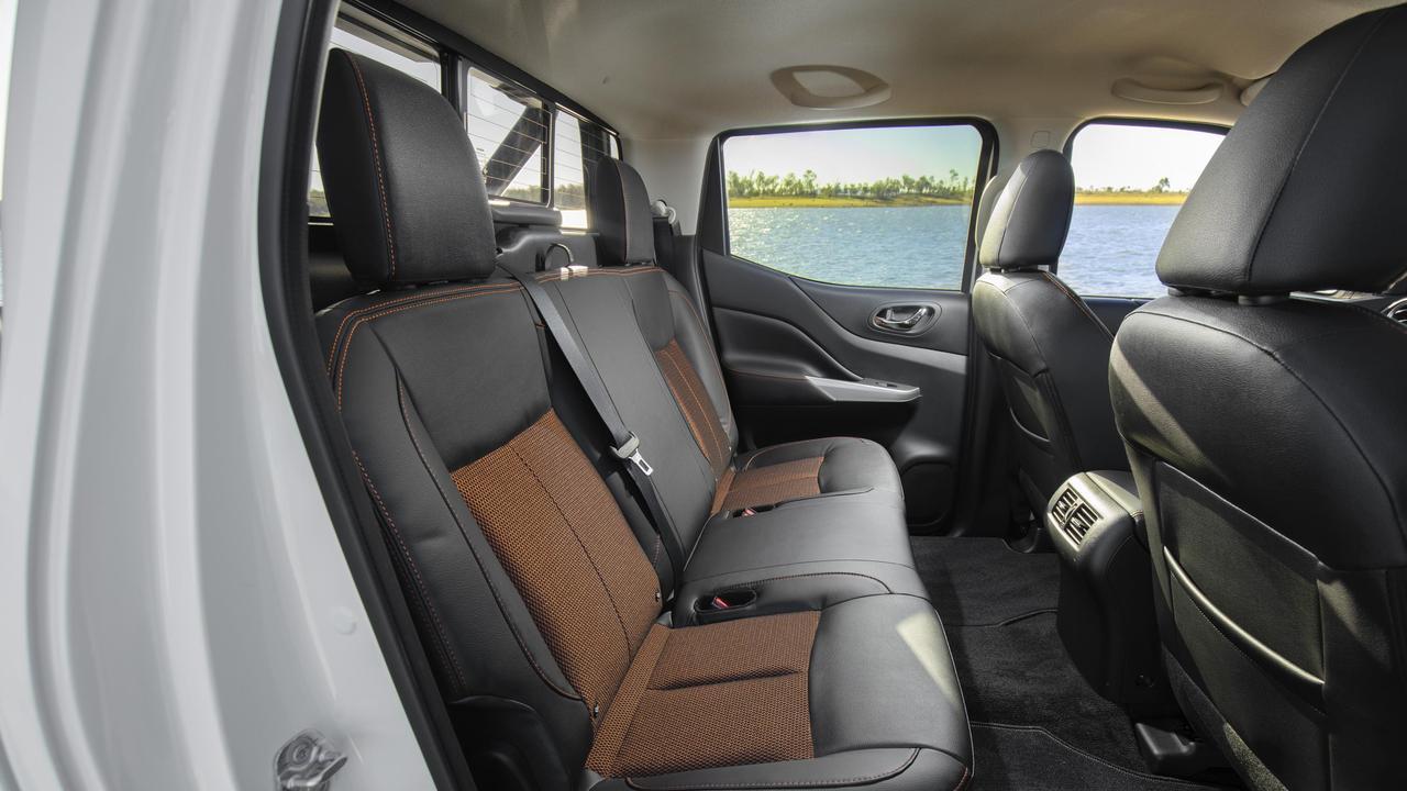 The 2019 Nissan Navara N-Trek dual-cab ute.