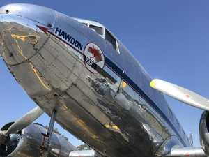 Aviation history visits Sunshine Coast Airport
