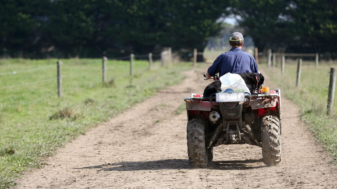 A person has died in an ATV accident in Southern Tasmania. File picture: ANDY ROGERS