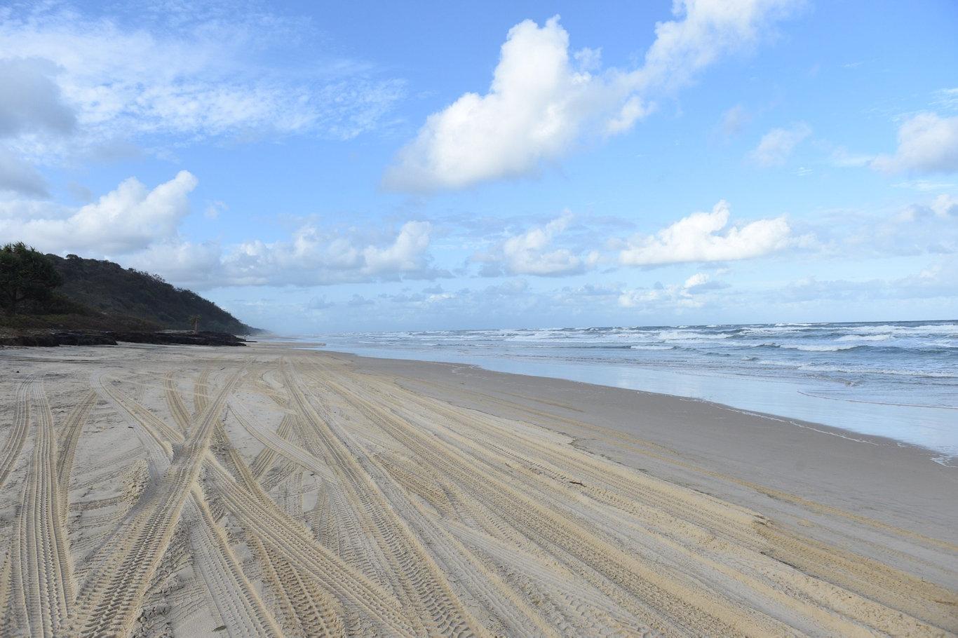 Fraser Island Eastern Beach