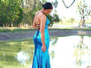 Savannah Evans - Chinchilla SHS Formal.