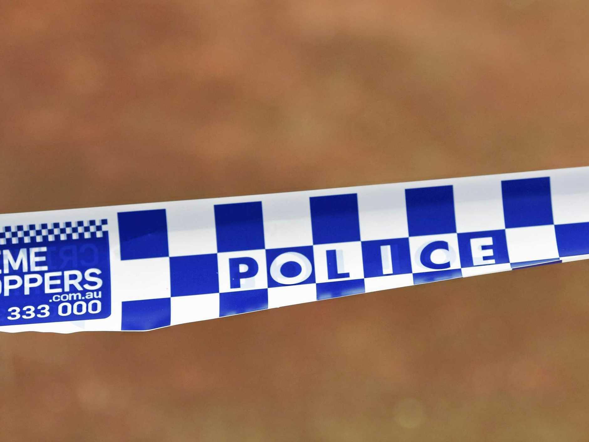 A man has died following a single-vehicle crash near Nimbin yesterday.