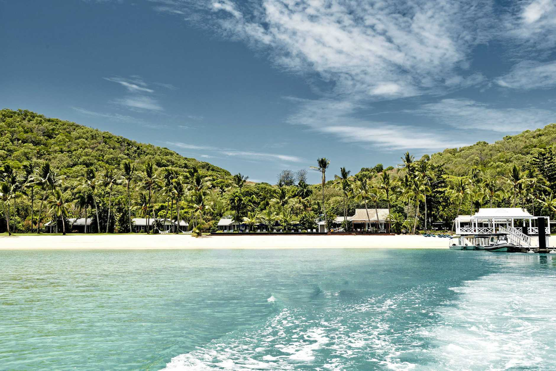 Orpheus Island Lodge itself accommodates just 28 people.
