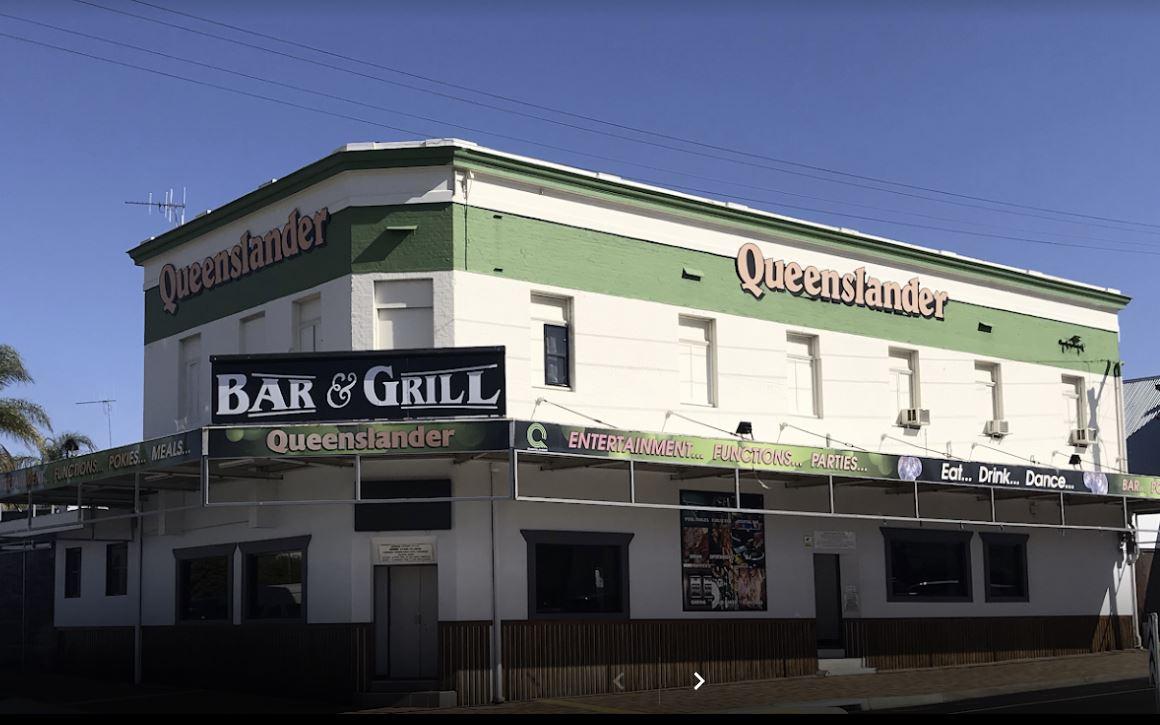 The Queenslander Hotel in Bundaberg.