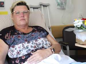 'UNBEARABLE': Mum says doctors missed spinal fractures